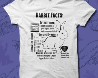Rabbit Facts House Rabbit Shirt