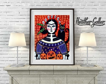 DIGITAL Print File - Day of the Dead, Mexican Folk Art (HG367)