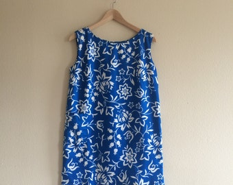 1 9 6 0 s / Hawaiian Paradise Wiggle Dress