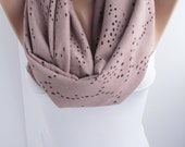 NEW Punched Infinity Scarf Women's Fashion Accessories for her fall winter fashion