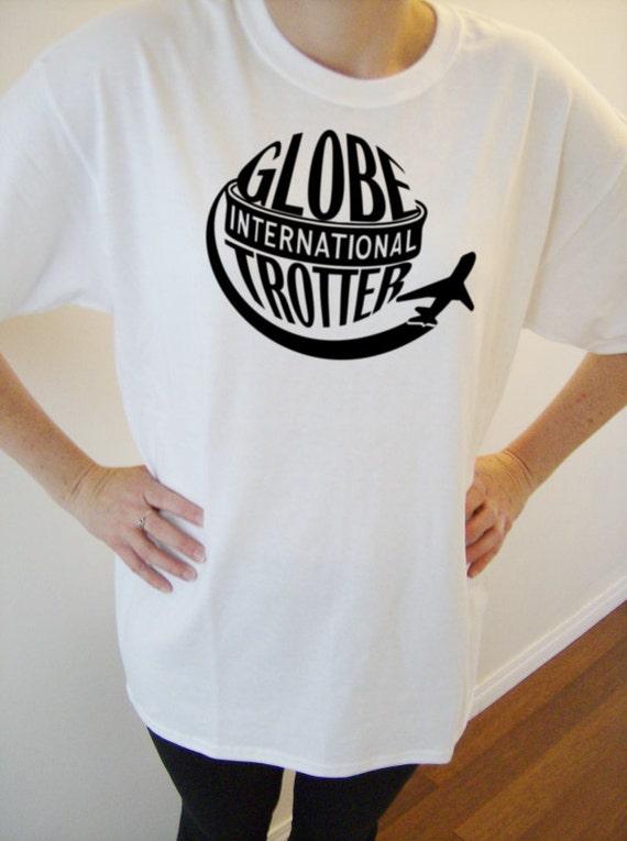 White original design cotton t shirt travel themed t shirt for Travel t shirt design ideas