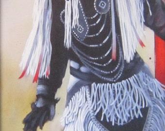 POWER of the  DANCE - native american, indian, portrait, spiritual, powwow, dance