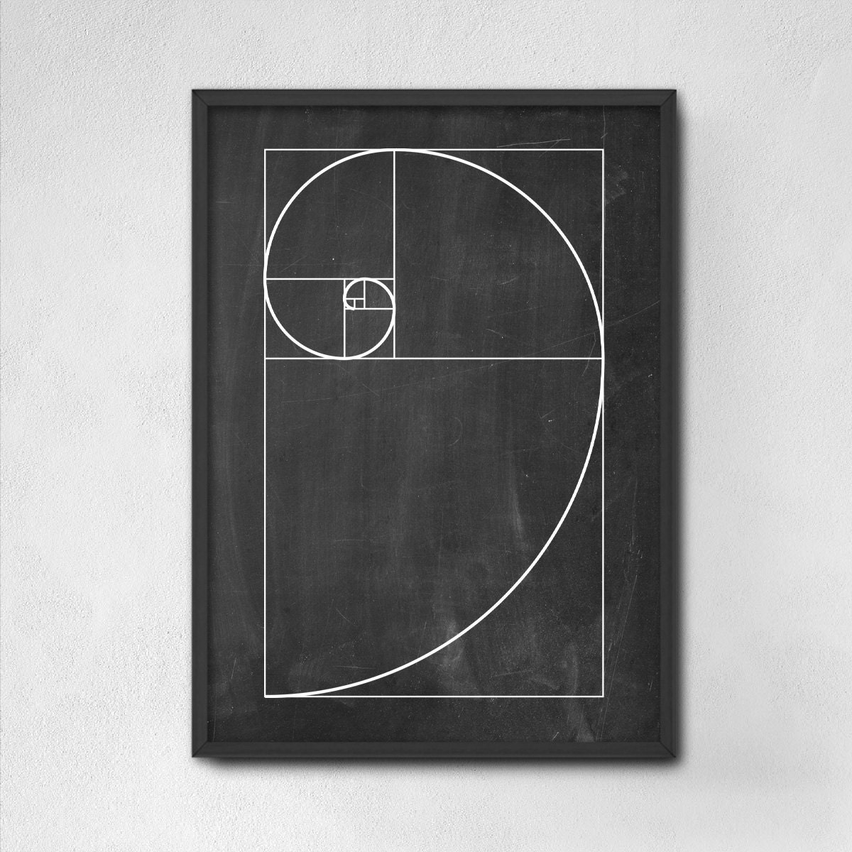 Poster design golden ratio -  Zoom