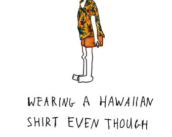 Hawaiian Shirt - Print