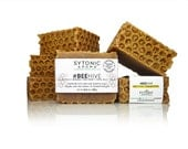 Beehive Soap - PROPOLIS + Beeswax + HONEY + Royal Jelly + Pollen (6.0 to 6.3 oz.), All Natural, Handmade Soap