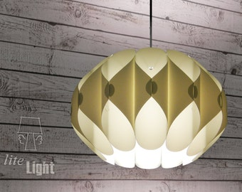 Modern lighting - Pendant lighting - Ceiling light - 60's retro lamp - Curls Classic white lamp - Pendant lamp - Ceiling lighting