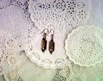 Abalone Shell Earrings (2278)