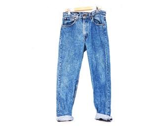 Vintage High Waisted  505 Levis Blue Jeans 31 Waist