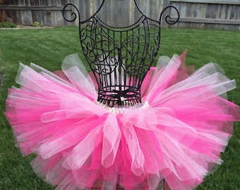 Hot Pink Tutu, Pink Tutu, Infant Tutu, Newborn Tutu, Baby Tutu, Toddler Tutu, Birthday Tutu, Princess Tutu, Pink Minnie Mouse Tutu, Prop