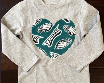 Long Sleeved Eagles Shirt, philadelphia eagles shirt, eagles shirt, eagles baby, philadelphia eagles baby