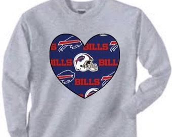 Long Sleeved Buffalo Bills Shirt