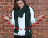 Heart Garland, Valentine's Day Garland, Crochet Garland