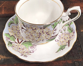 Teacup Candle - Custom Scent and Color - Royal Albert - The Bailey