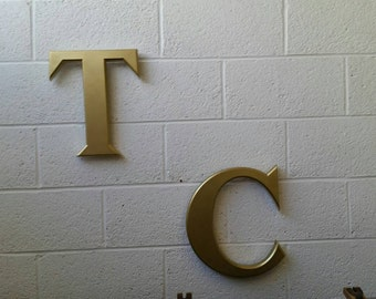 Selection of Salvaged Vintage Industrial Large Resin Letters
