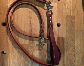 "The finest (and last) 4'-0"" leather leash you will ever need.  100% hand made in ATX, USA!"
