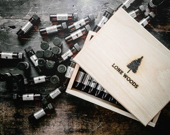 BEARD OIL SAMPLE: Small-Batch Beard Oil (Sandalwood, Cedarwood, Orange Scent) - Beard Oil Sampler, Tester, Made in Canada, Gift for Him, Men