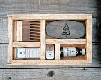 beard kit beard oil box kit premium beard oil stache by lonewoods. Black Bedroom Furniture Sets. Home Design Ideas