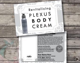 Plexus Body Cream Sample Postcard