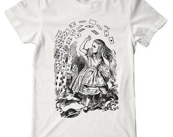 Alice In Wonderland Cards Premium T-Shirt