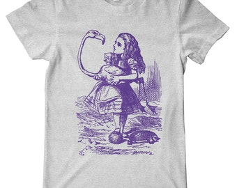 Alice In Wonderland Croquet Premium T-Shirt
