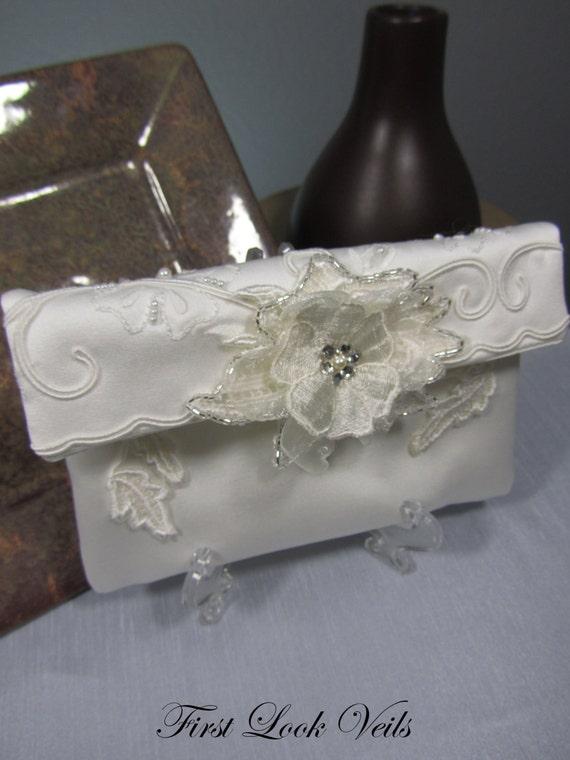 Bridal Clutch, Women's Clutch, Bridal Gift, Wedding Accessory, Small Purse, Ivory Clutch, Swarovski Elements, Mother Of The Bride, Bride