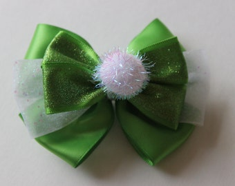 Tinker Bell Inspired Boutique Bow