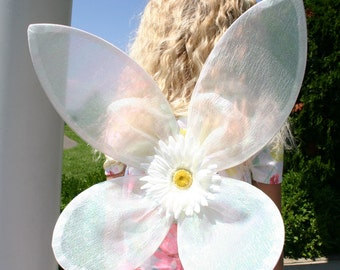 Crystal White Fairy Wings