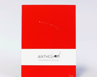 Aries Zodiac Sign Pantone Inspired Constellation Journal