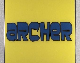 ARCHER  TV Show Ceramic Tile