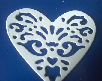 Intricate lacy heart die-cuts (buy individual)
