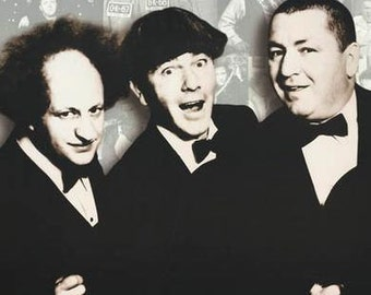 Three Stooges Knuckleheads  Rare Poster