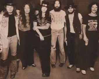Lynyrd Skynyrd 1975 Rare Poster