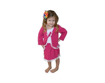 Girls Skirt Set, childrens clothing, girls clothes, girls clothing, toddler girls clothing, girls boutique clothing, Christmas clothing
