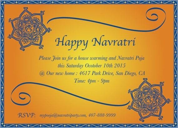 Custom ethnic design card navratri invitation mehendi like this item stopboris Images