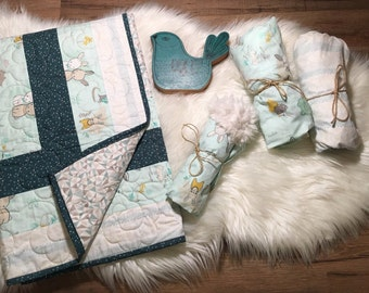 Baby Bedding Collection // Toddler Bedding // Bedding Bundles//Little Hopper Collection