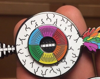 """Open Your Eyes """"Hat Pin"""" (non glitter)"""