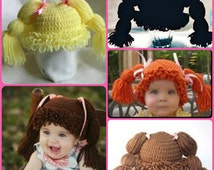 Cabbage Patch Kid Hats, Handmade to Order!
