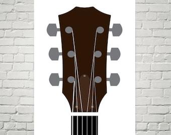 Taylor Guitar Print