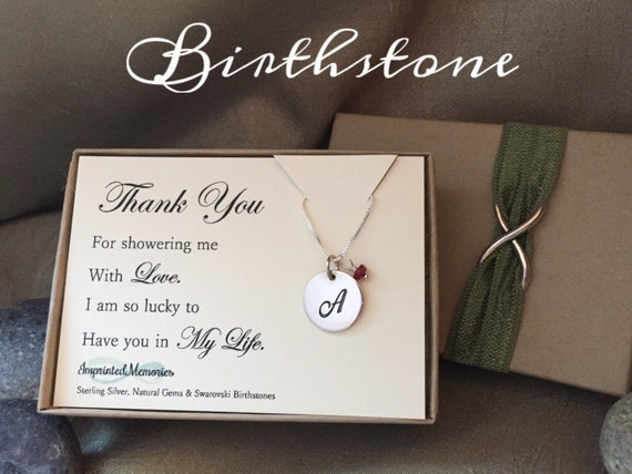 thank you gift for friend baby shower hostess gift bridal shower
