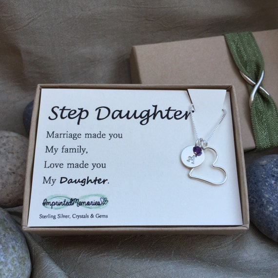 Wedding Gift To Step Daughter : Stepdaughter gift - new stepdaughter wedding gift - marriage made you ...