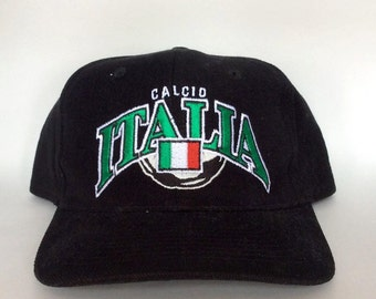 Vintage Italy Velcroback Hat by Starter Rare 90s