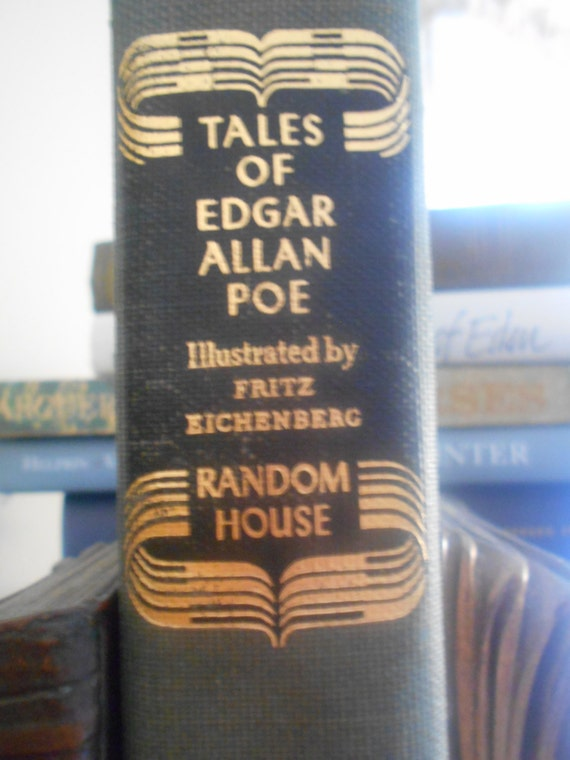 Tales of Edgar Allan Poe. Random House. 1944. illustrated by Fritz EIchhenberg.