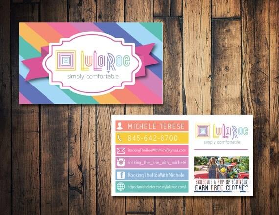 Items similar to lularoe business card lularoe calling for Lularoe buisness cards