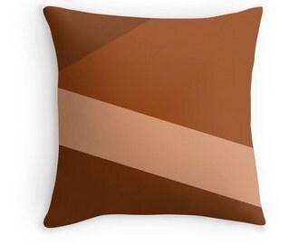 Brown Pillow, Brown Throw Pillow, Brown Pillow Cover, Brown Pillow Case, Brown Toss Pillow, Brown Bedding, Brown Bedroom, Brown Decor