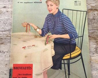 Vintage French 1950s Craft Magazine