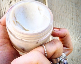 Shaving cream , organic shaving cream , vegan frankincense shaving cream