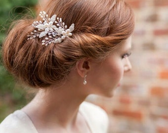 Set of Two Holly Bridal Hair Pins