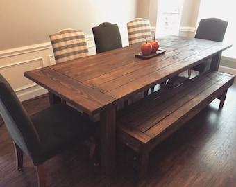 Classic Harvest Table | Farmhouse Table
