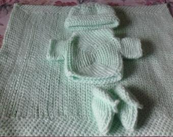 Victoria's Original handcrafted infant bundle.