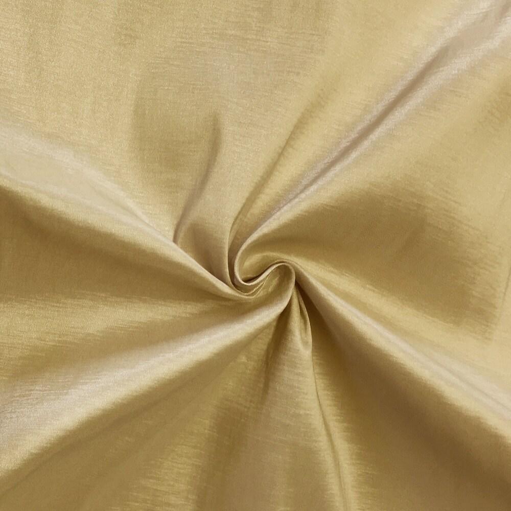 Champagne taffeta stretch fabric 2 way stretch 58 wide for Nylon fabric